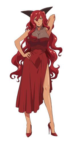 Itou Shizuka sebagai Ratu Merah